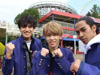 Aぇ! group末澤誠也・草間リチャード敬太・小島健、絶叫マシーンに挑戦「男気をみせられた」