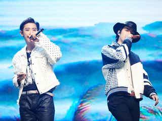 EXO-SC、初の「a-nation」デュエット出演「直接会える日が早く来るように祈ります」<セットリスト>