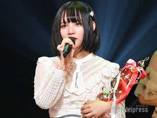 <第2回AKB48グループ歌唱力No.1決定戦>AKB48矢作萌夏が優勝で感涙 卒業発表直後
