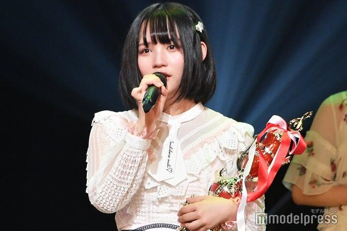 「AKB48グループ歌唱力No.1決定戦」第2回大会で優勝した矢作萌夏(C)モデルプレス