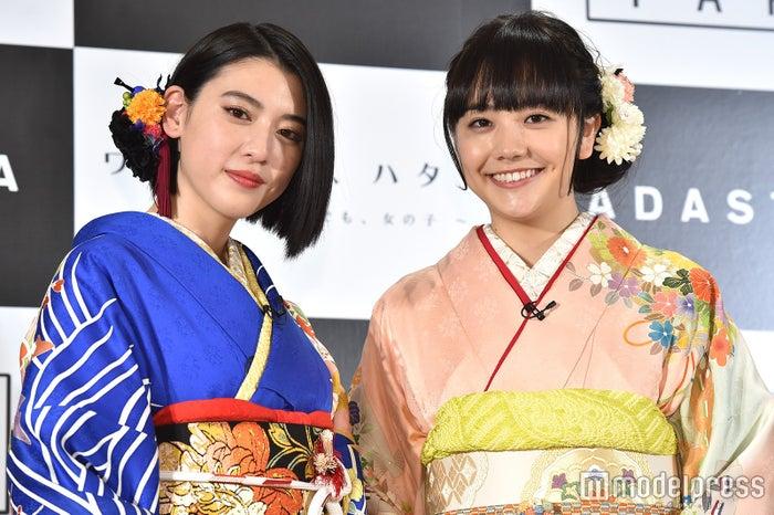 三吉彩花、松井愛莉(C)モデルプレス
