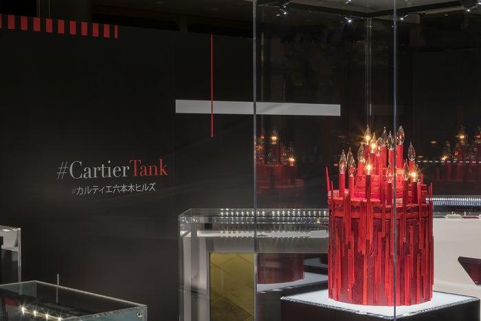 「TANKOTHEQUE」の中心に香取の作品を展示(提供写真)