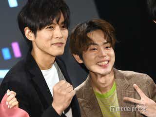 菅田将暉、松坂桃李は「兄弟でもあるし、ライバルでもある」<パーフェクトワールド>