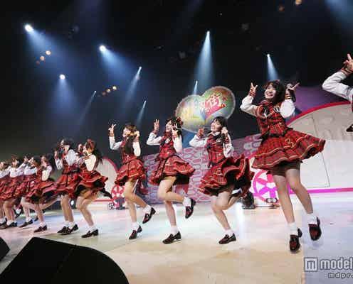 AKB48チーム8、オリジナル楽曲を初披露 突然のサプライズ発表に会場騒然