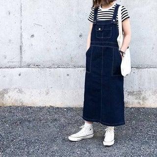 この春はジャンパースカートが絶対可愛い♡シンプル合わせでコーデもラクラク!大人におすすめしたい旬顔コーデ5選