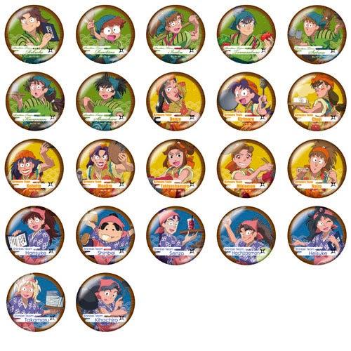 忍たま乱太郎茶屋-缶バッジ(ランダム22種)350円(税抜)(C)尼子騒兵衛/NHK・NEP