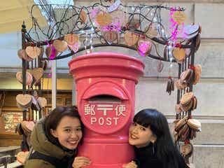 縁結びに美肌…菅沼ゆり&柴田紗希が島根で女子旅