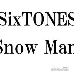 """<SixTONES(ストーンズ)プロフィール>2015年、ドラマ「私立バカレア高校」出演者のジェシー、京本大我、高地優吾(※「高」は正式には「はしごだか」)、松村北斗、森本慎太郎、田中樹で結成。公式YouTubeチャンネル「ジャニーズJr.チャンネル」で公開されたMV「JAPONICA STYLE」が、世界各地で展開している「YouTube アーティストプロモ」に日本で初めて抜擢。単独全国ツアー「Rough""""xxxxxx""""」を開催中。2020年1月22日に「Imitation Rain」でCDデビュー。  <Snow Man(スノーマン)プロフィール>2012年、深澤辰哉、佐久間大介、渡辺翔太、宮舘涼太、岩本照、阿部亮平で結成後、2019年1月に向井康二、目黒蓮、ラウールが加入し9人体制に。舞台「滝沢歌舞伎ZERO」で主演を務め、3月の横浜アリーナ公演で9人揃った姿がファンの前で初お披露目された。2020年1月22日に「D.D.」でCDデビュー。アジアツアーを予定している。"""