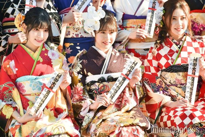 谷口めぐ、加藤美南、北川綾巴/AKB48グループ成人式記念撮影会 (C)モデルプレス