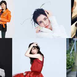 (上段左から)AI 、岸谷香、柴咲コウ、スガシカオ(下段左から)宮本浩次、milet、森山直太朗(提供写真)