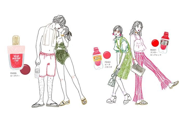 エチュードハウス、高発色×ツヤ感の夏ティント11選 見た目も可愛すぎ!