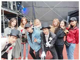 東方神起ライブに少女時代・SHINee・Red Velvet・NCTら「美男美女だらけ」豪華集結ショット話題に