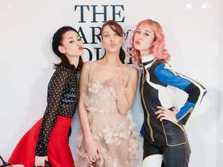 【Dior】「ディオールアート オブ カラー展」のオープニングイベントにベラ・ハディッド、水原 希子ら豪華ゲストが来場!
