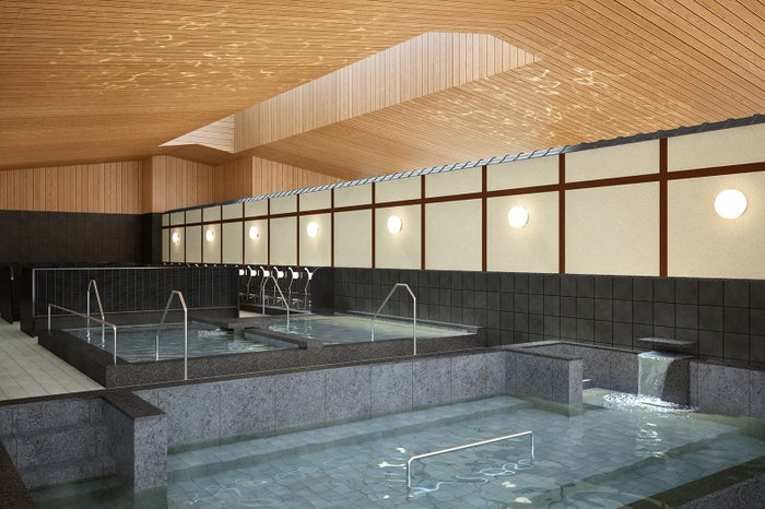 庭見風呂/画像提供:大阪ベイタワー合同会社