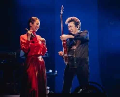 布袋寅泰のライブにMs.OOJAがまさかのサプライズ出演、初共演で「鐘が鳴る」を披露