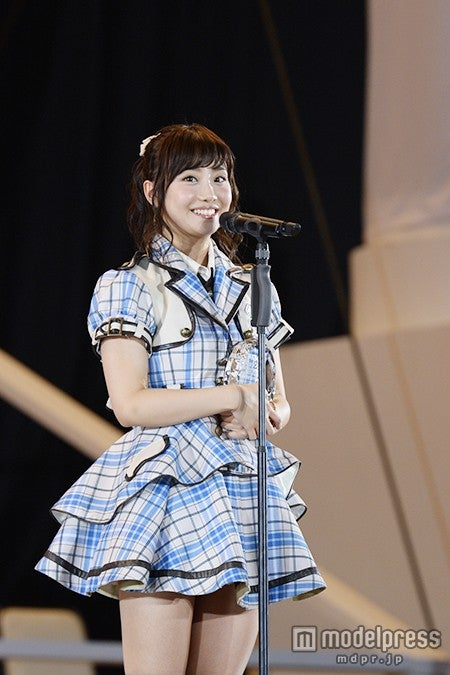 SKE48柴田阿弥、順位発表<第7回AKB48選抜総選挙>(C)AKS【モデルプレス】