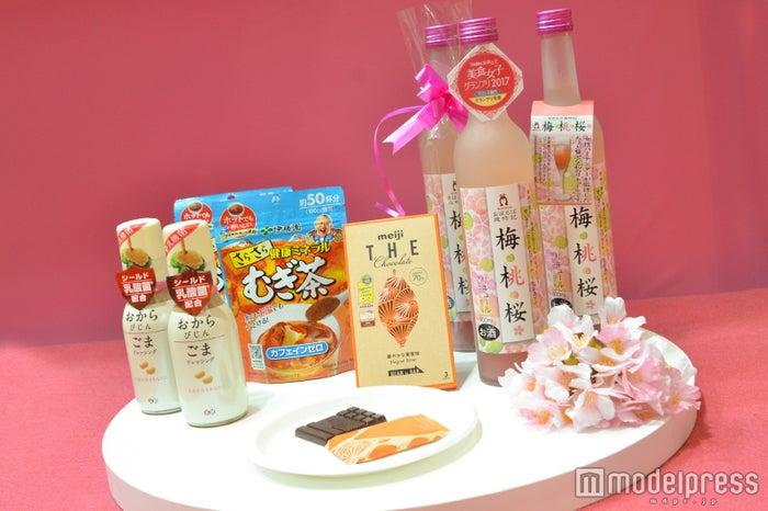 「FOODEX美食女子グランプリ2017」受賞製品(C)モデルプレス