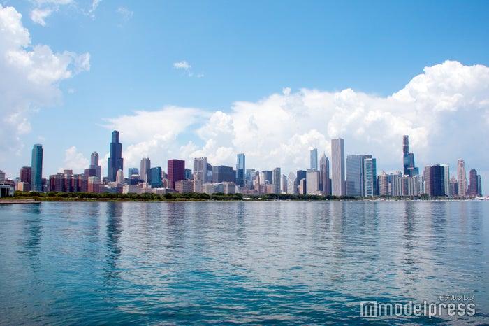 ミュージアムキャンパスから見たシカゴの風景(C)モデルプレス