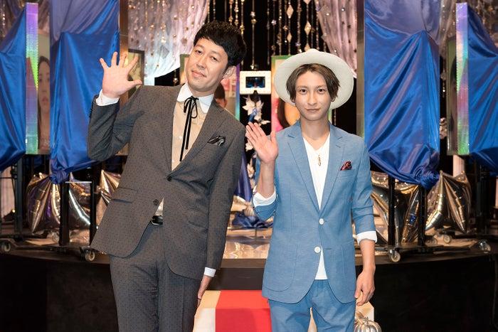 (左から)小籔千豊、AAA與真司郎(画像提供:NHK)