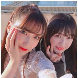 モデルプレス - NMB48白間美瑠、梅山恋和を絶賛 2ショットに「顔面偏差値高い」「美人コンビ」と反響