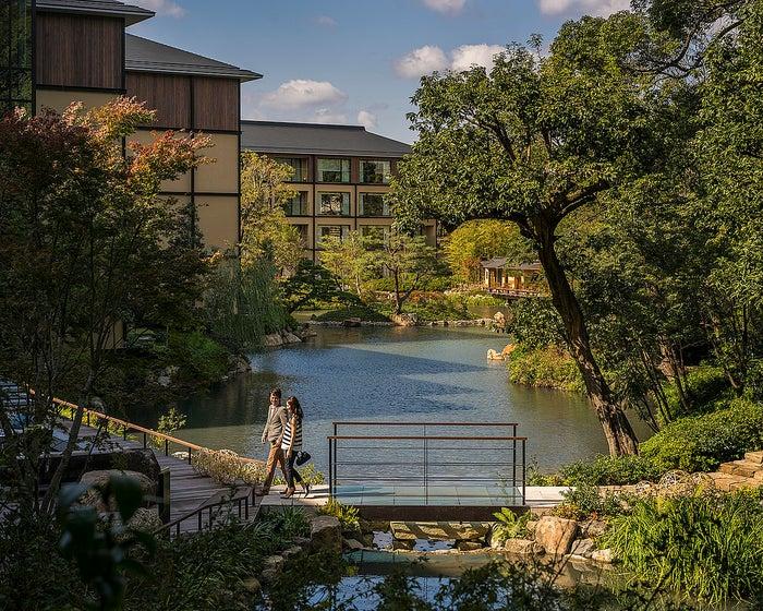 ホテル内庭園「積翠園」イメージ/画像提供:フォーシーズンズホテル京都