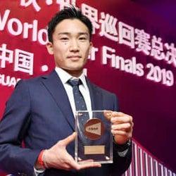 バド、桃田が年間最優秀選手 BWFが表彰選手を発表