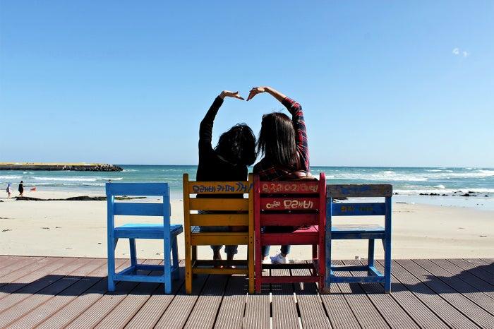 ウォルジョンリ海岸でインスタショットはマスト/画像提供:済州観光公社