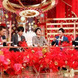 (左から)博多華丸・大吉、北村匠海、千鳥(C)カンテレ
