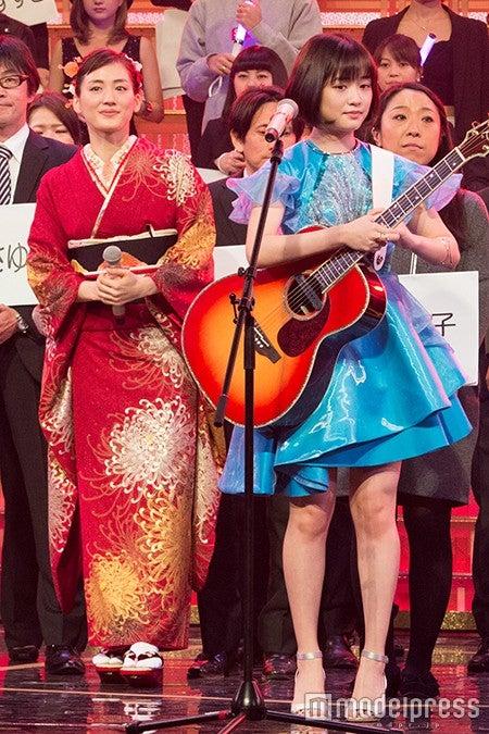 綾瀬はるか、大原櫻子/写真は31日のリハーサルより(C)モデルプレス