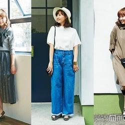 体型の悩みを解決!「ワイドパンツ」「プリーツスカート」…今夏トレンド服を着こなそう