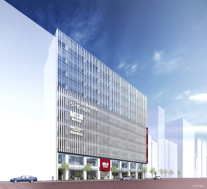 日本初「MUJI HOTEL GINZA」&世界旗艦店「無印良品 銀座」開業日決定/画像提供:株式会社良品計画