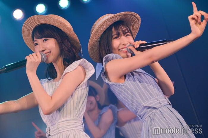 柏木由紀、福岡聖菜/AKB48高橋チームB「シアターの女神」公演(C)モデルプレス