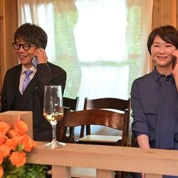 生瀬勝久、夏川結衣  「着飾る恋には理由があって」最終話より(C)TBS