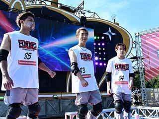 THE RAMPAGE陣・浦川翔平・武知海青「SASUKE2020」で前年のリベンジに挑戦 武知は体脂肪率3.3%に
