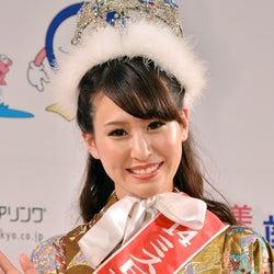 「2014ミス日本」は大分出身の女子大生 大和撫子ぶりを発揮