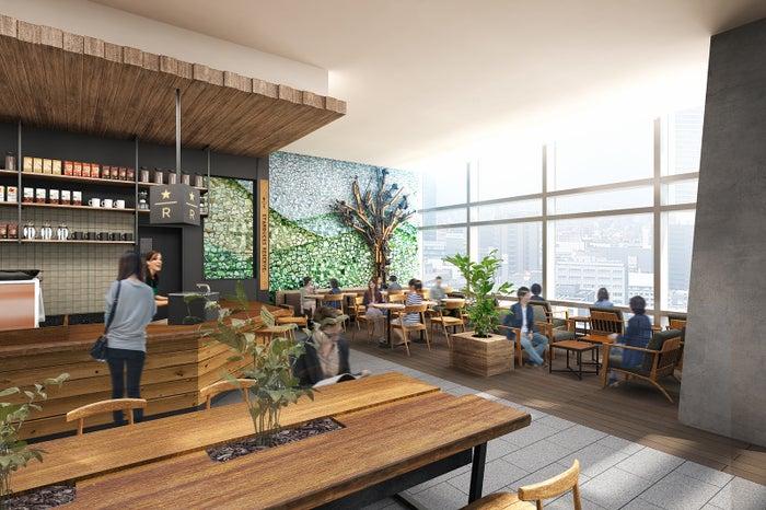 スターバックス コーヒー 名古屋JRゲートタワー店 内観/画像提供:スターバックス コーヒー ジャパン