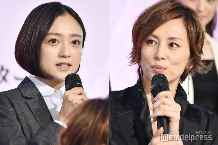 (左から)安達祐実、米倉涼子 (C)モデルプレス