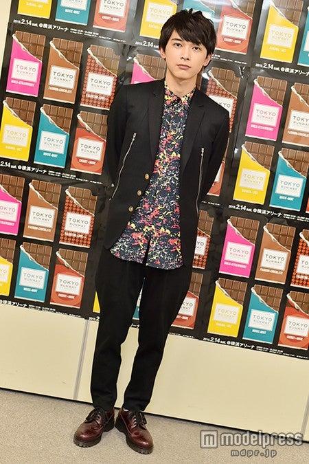 吉沢亮/「東京ランウェイ 2015 SPRING/SUMMER」バックステージにて