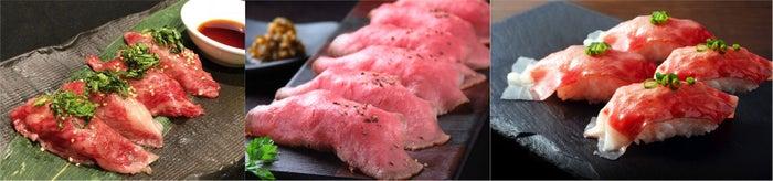 贅沢な肉寿司/画像提供:AATJ株式会社