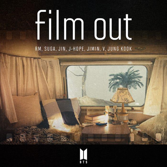 「Film out」ジャケット写真 (提供写真)