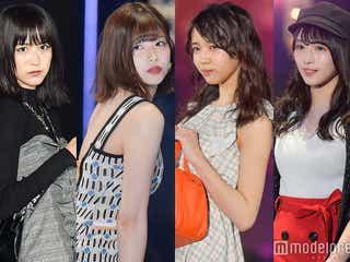 欅坂46、憧れのスタイルランキング発表「脚がすごく好き」「ザ・モデルさん」