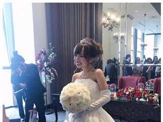 結婚&妊娠発表の「Popteen」ゆみちぃ、結婚式でのウェディングドレス姿公開 夫のサプライズ明かす