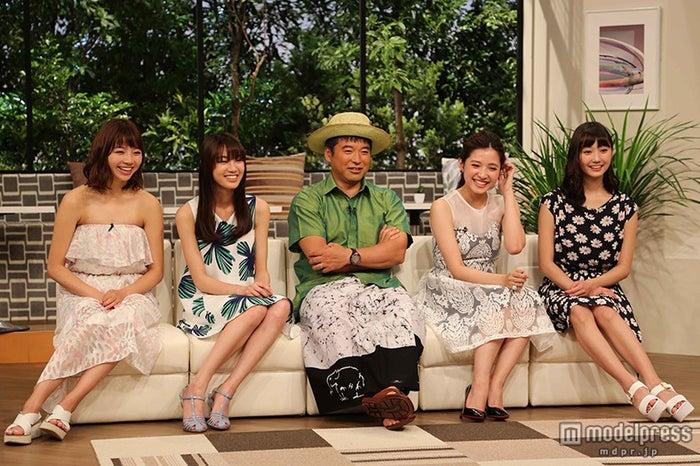 (左から)青山あみ、彩乃、三浦豪太、紗來乙生、鈴木友菜/画像提供:テレビ東京