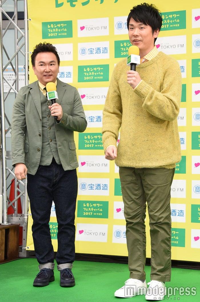 山内健司、濱家隆一 (C)モデルプレス