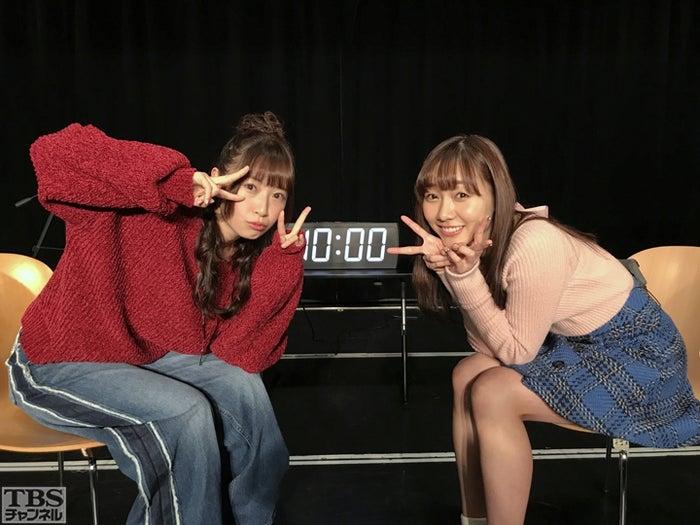 高柳明音×須田亜香里(提供写真)