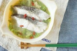レンジで5分!野菜もたっぷり簡単お魚レシピ