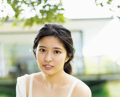 "AKB48行天優莉奈、水着グラビア初挑戦 ""仰天スタイル""解禁"