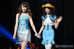 新「ViVi」専属モデルの藤井サチ&miu、抜群スタイル&オーラで圧倒 りゅうちぇるも「並びたくない」