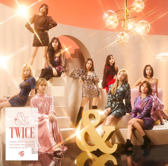 TWICE/JAPAN 2nd ALBUM『&TWICE』(11月20日発売)通常盤(提供写真)