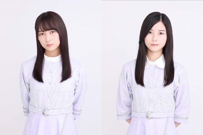(左から)鈴木絢音、佐々木琴子(提供写真)